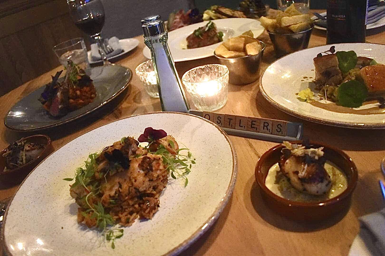 Ostlers - Food